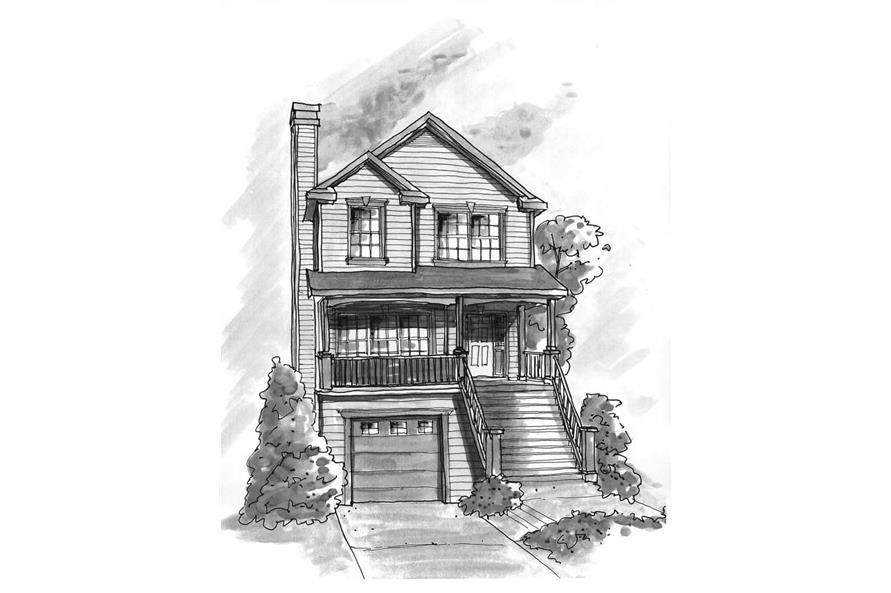 Main image for house plan # 120-1379