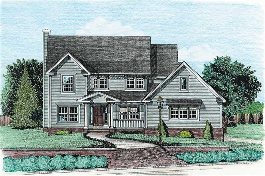 Main image for house plan # 5464
