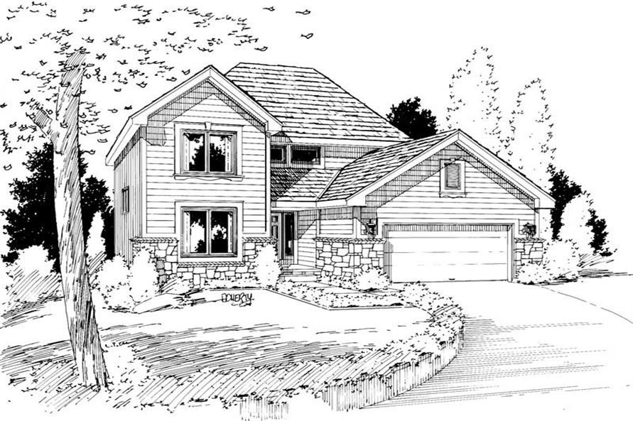 Main image for house plan # 5740
