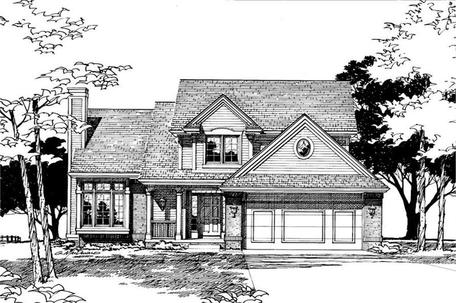 House plan 120 1400 4 bedroom 1728 sq ft country House plans under 1400 sq ft