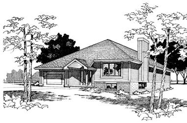 Main image for house plan # 5901