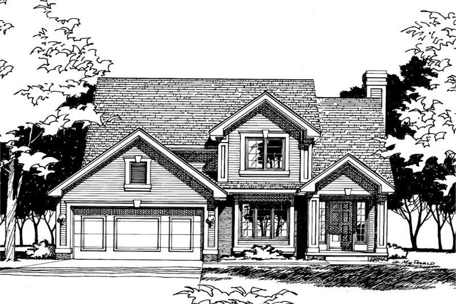 Main image for house plan # 5902