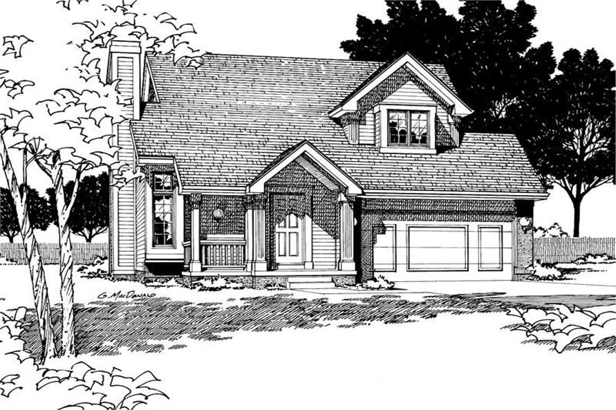 Main image for house plan # 5904