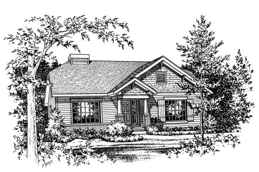 Main image for house plan # 5477