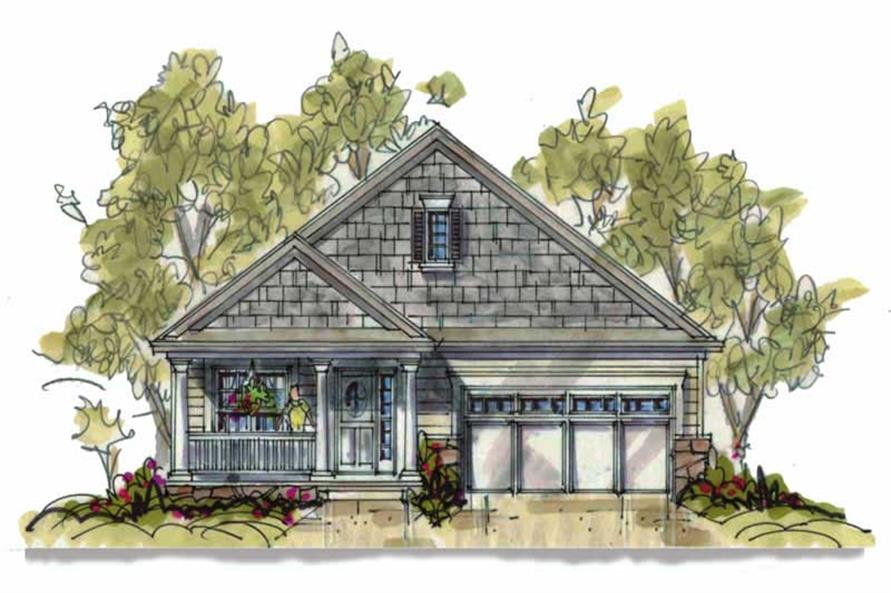 Main image for house plan # 5822