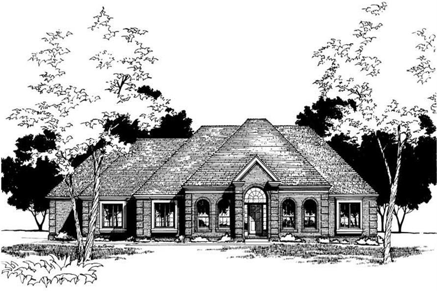Main image for house plan # 5912