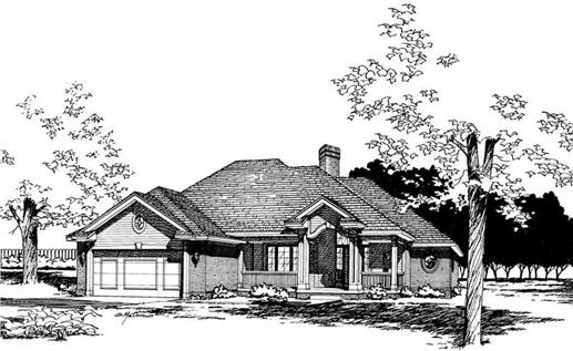 Main image for house plan # 5323