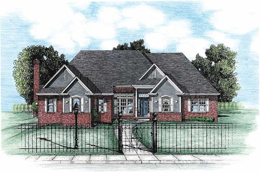 Main image for house plan # 5459