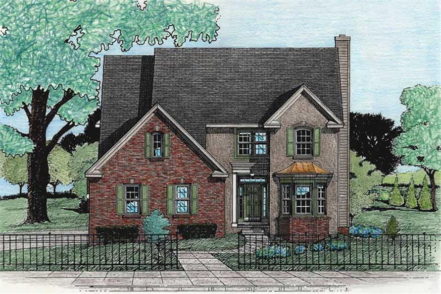 Main image for house plan # 5463