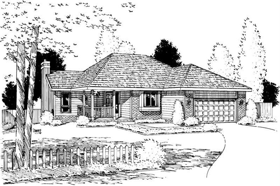 Main image for house plan # 5730