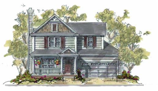 Main image for house plan # 5809