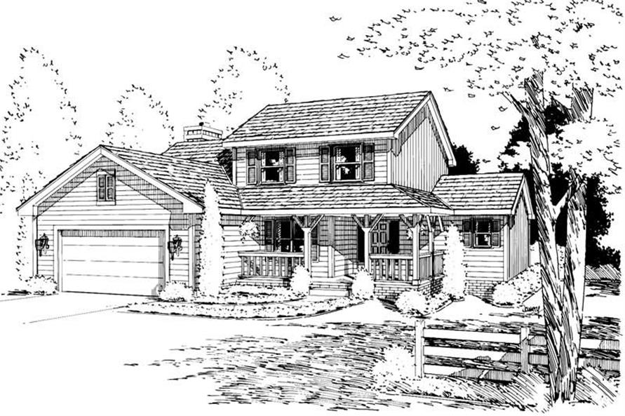 Main image for house plan # 5725