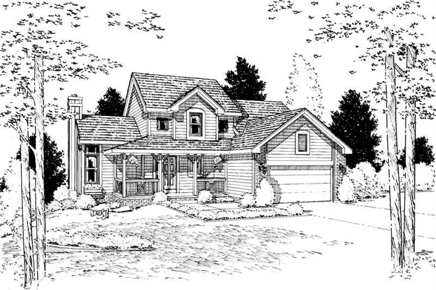 Main image for house plan # 5628