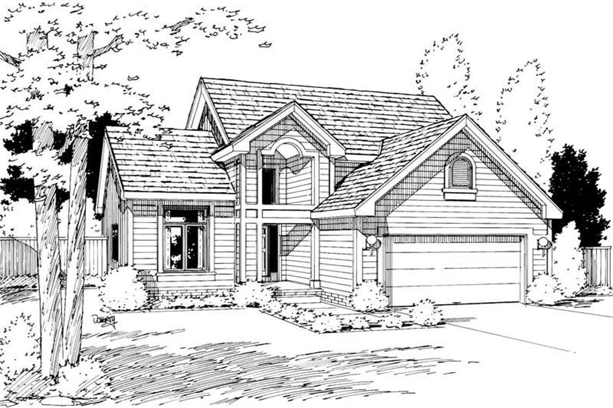 Main image for house plan # 5741