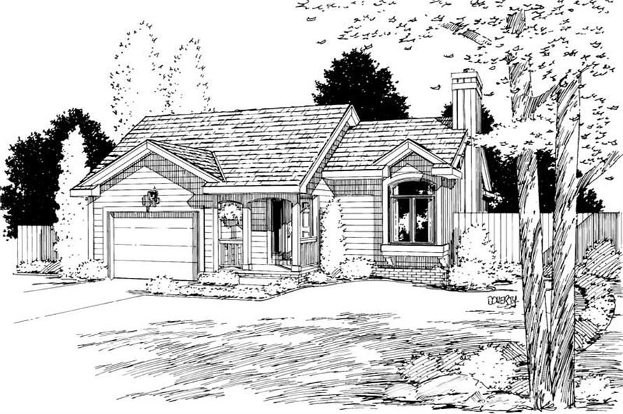 Main image for house plan # 5751