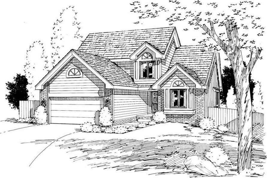 Main image for house plan # 5760