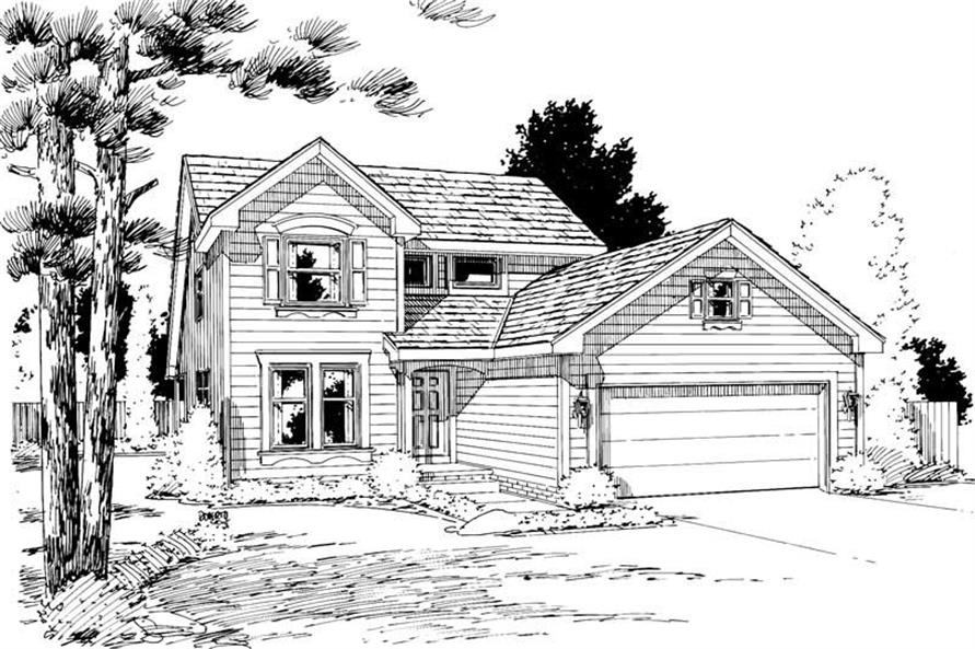 Main image for house plan # 5761
