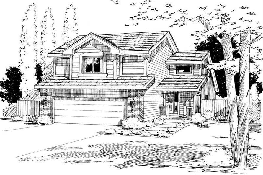 Main image for house plan # 5763