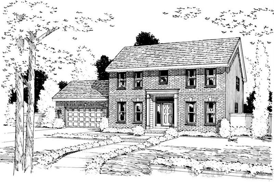 Main image for house plan # 5717