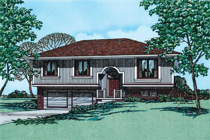 Main image for house plan # 5835