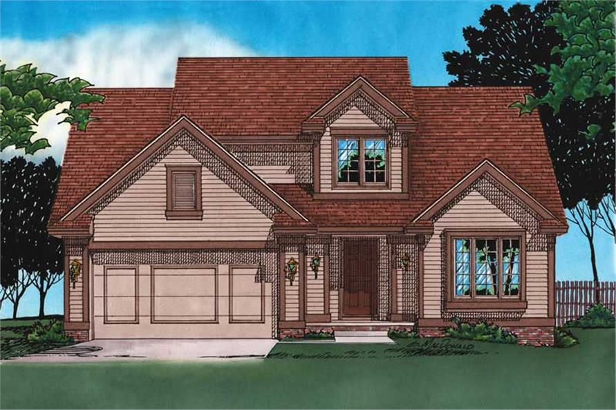 Main image for house plan # 5897