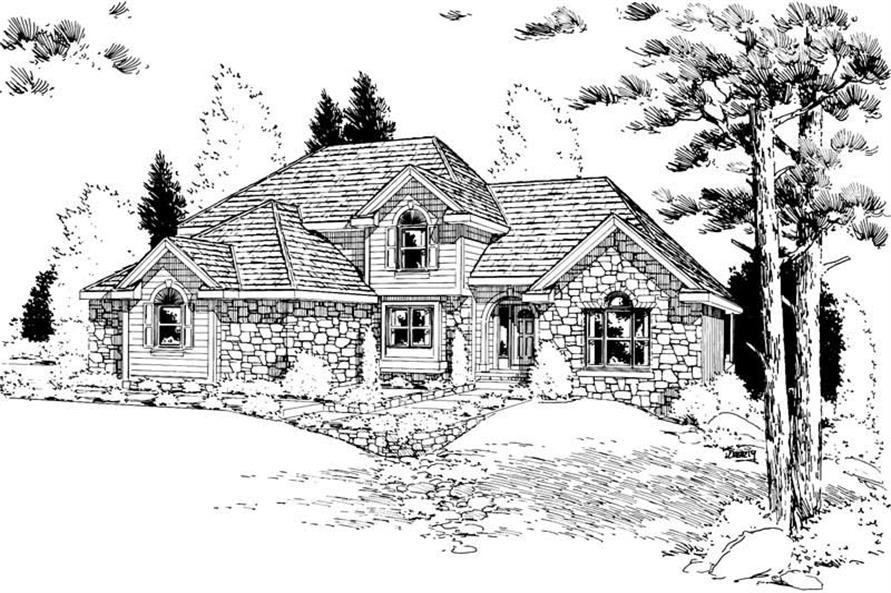 Main image for house plan # 5642