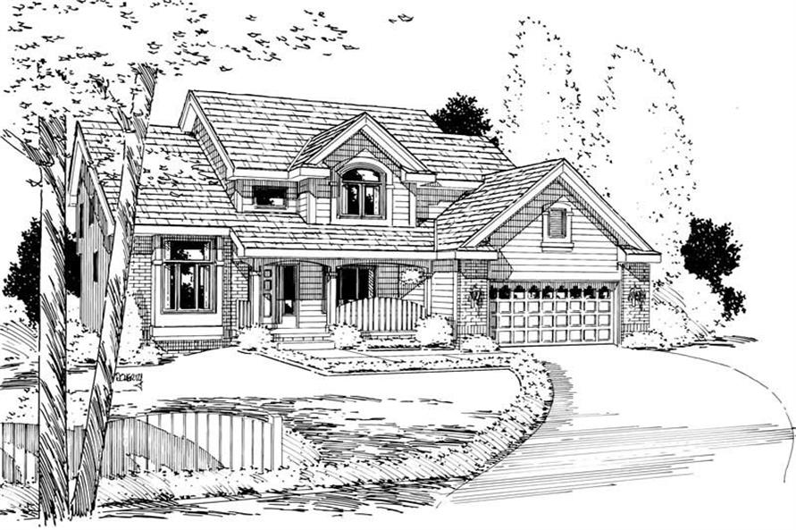 Main image for house plan # 5640