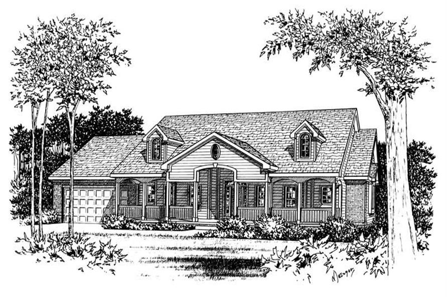 Main image for house plan # 5563