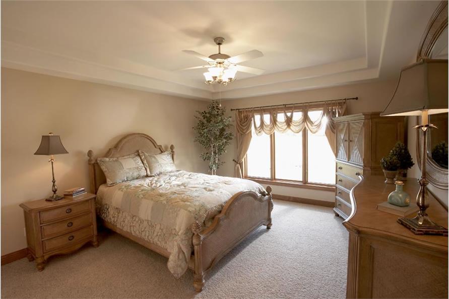Bedroom of this 3-Bedroom,1919 Sq Ft Plan -1919