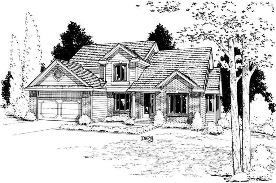 Main image for house plan # 5621