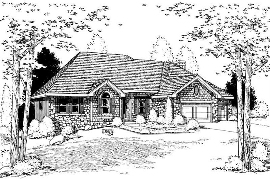 Main image for house plan # 5624