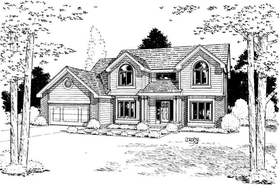 Main image for house plan # 5626