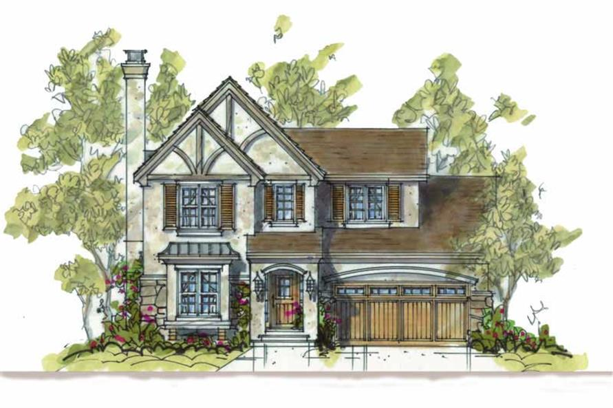3-Bedroom, 1715 Sq Ft Craftsman Home Plan - 120-1481 - Main Exterior