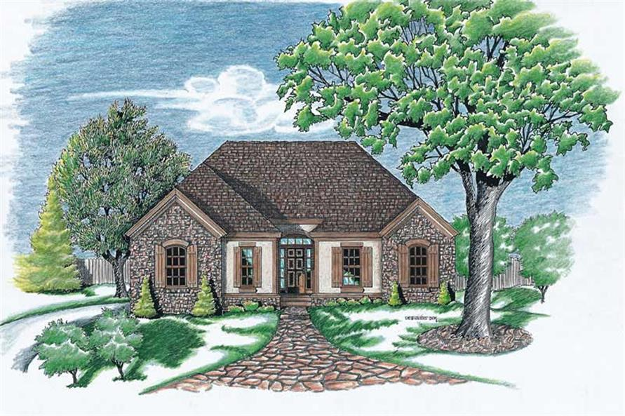 Main image for house plan # 6254