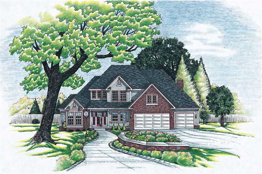 Main image for house plan # 6278