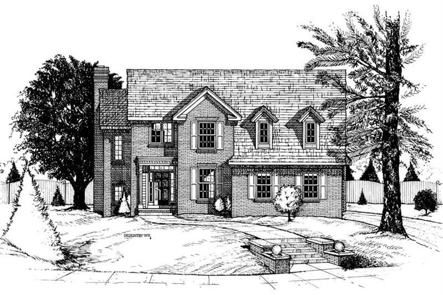 Main image for house plan # 6276