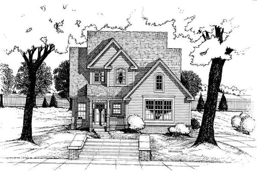 Main image for house plan # 6262