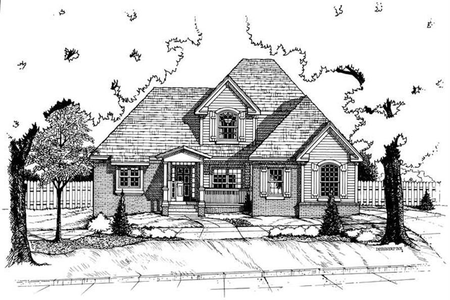 Main image for house plan # 6259