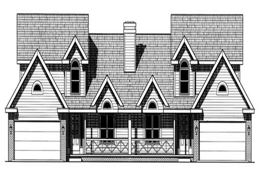 Main image for house plan # 6222