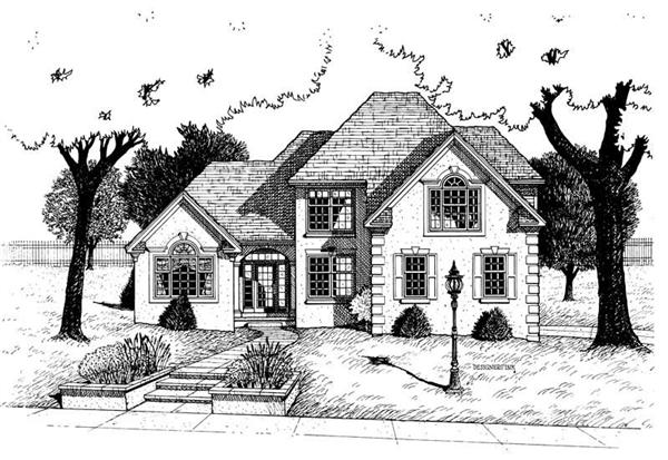 Main image for house plan # 6257