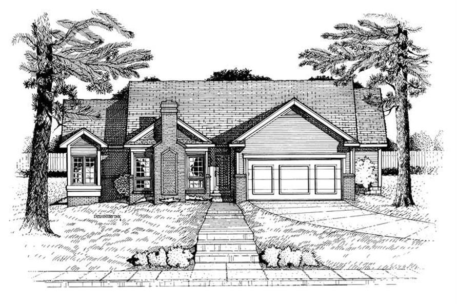 Main image for house plan # 6294