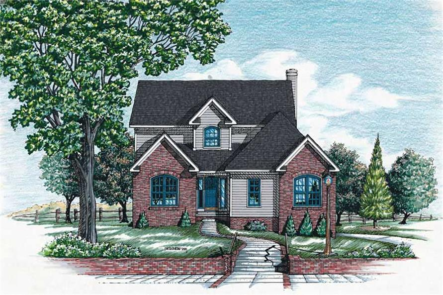 Main image for house plan # 6307