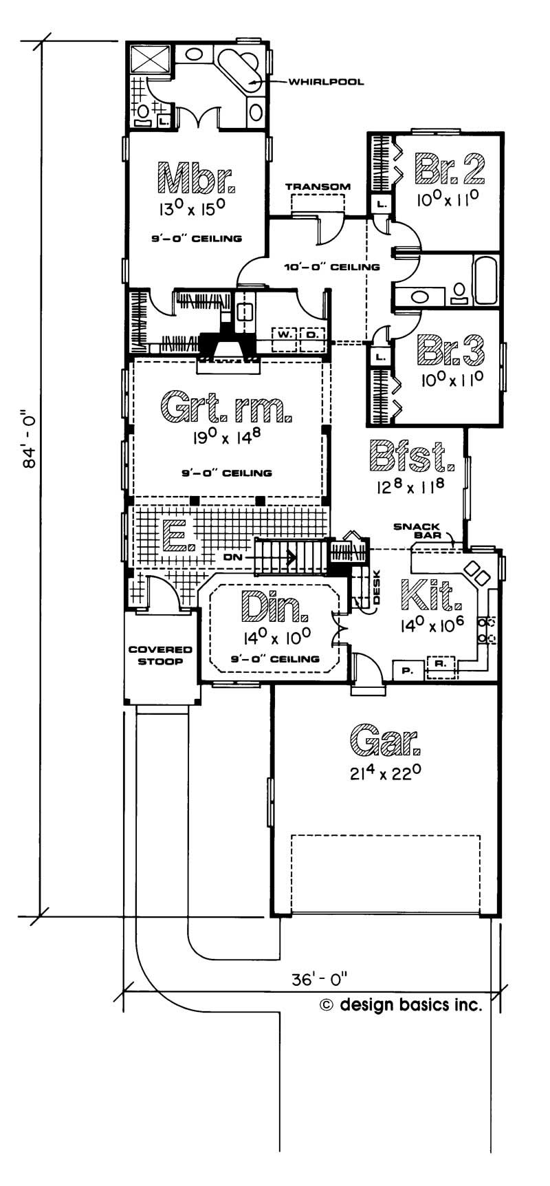 Brick one story house plans for 1 story brick house plans