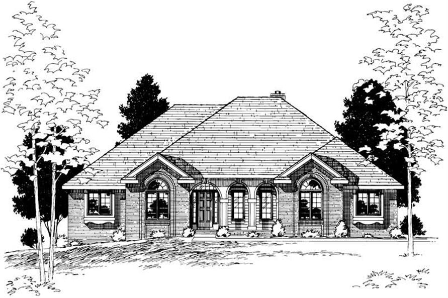 Rendering of this 3-Bedroom,2187 Sq Ft Plan -2187