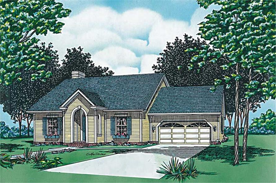 Main image for house plan # 6149