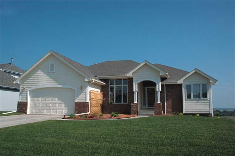 Exterior Photo of this 3-Bedroom,1595 Sq Ft Plan -1595