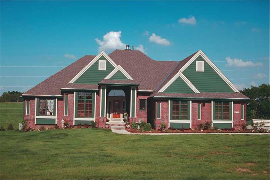 Main image for house plan # 6067