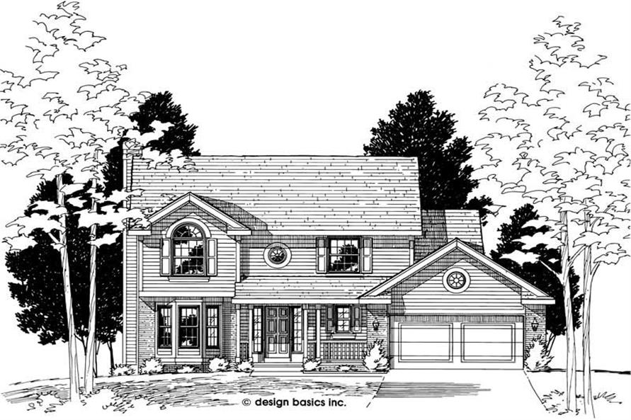 Main image for house plan # 6164