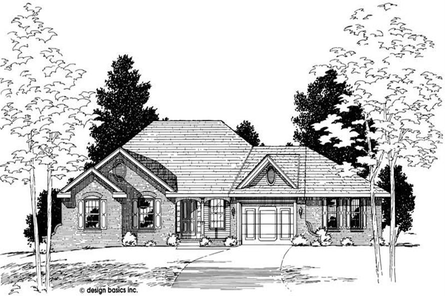 Main image for house plan # 6163