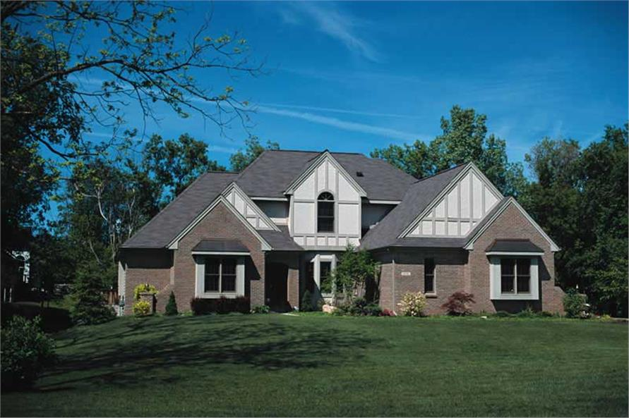 Main image for house plan # 6153